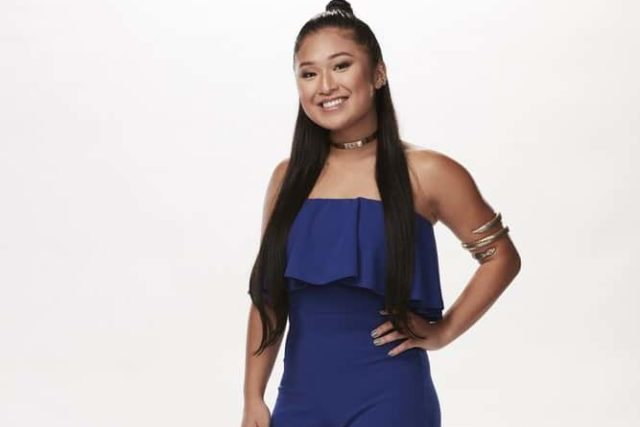 THE VOICE -- Season: 15 -- Contestant Gallery -- Pictured: Radha -- (Photo by: Paul Drinkwater/NBC)