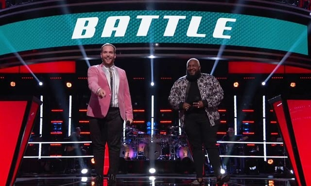 Colton Smith Patrique Fortson The Voice Battle