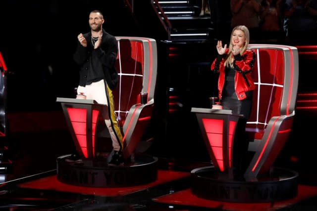 The Voice Blind Auditions 6 Adam Levine Kelly Clarkson