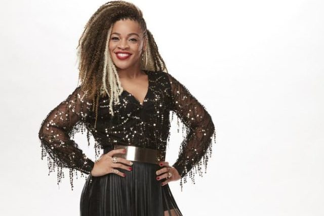 THE VOICE -- Season: 15 -- Contestant Gallery -- Pictured: Sandyredd -- (Photo by: Paul Drinkwater/NBC)