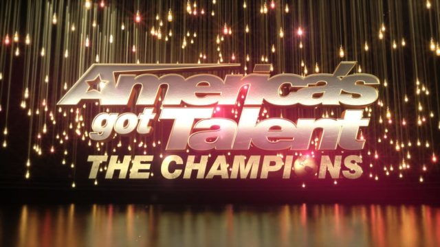 "AMERICAS GOT TALENT: THE CHAMPIONS -- Pictured: ""Americas Got Talent: The Champions"" Logo -- (Photo by: NBC)"