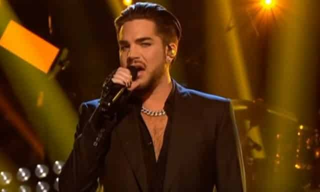 Adam Lambert Strictly Come Dancing