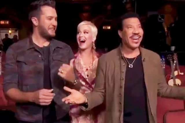 Luke Bryan Katy Perry Lionel Richie Hollywood Surprise