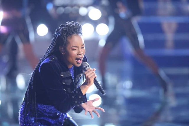"""THE VOICE -- """"Live Finale"""" Episode 1519A -- Pictured: Kennedy Holmes -- (Photo by: Tyler Golden/NBC)"""