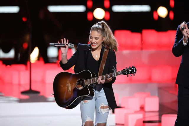 "THE VOICE -- ""Live Finale Results"" Episode 1519B -- Pictured: Brynn Cartelli -- (Photo by: Tyler Golden/NBC)"