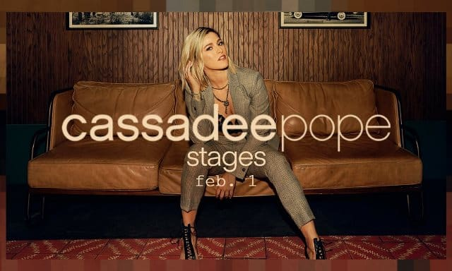 Cassadee Pope Stages Cover