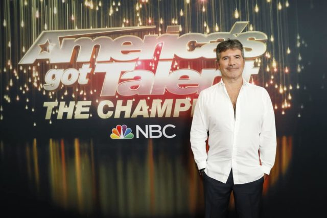 "AMERICA'S GOT TALENT: THE CHAMPIONS -- ""The Champions Results Finale"" Episode 107 -- Pictured: Simon Cowell -- (Photo by: Trae Patton/NBC)"