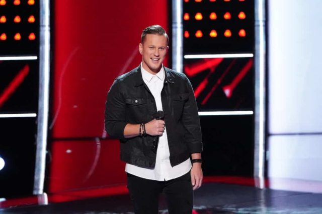 "THE VOICE -- ""Blind Auditions"" -- Pictured: Jimmy Mowery -- (Photo by: Tyler Golden/NBC)"