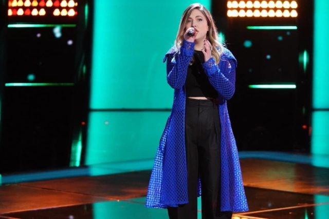 """THE VOICE -- """"Blind Auditions"""" -- Pictured: Maelyn Jarmon -- (Photo by: Tyler Golden/NBC)"""