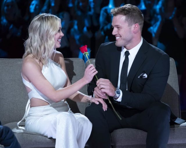 "THE BACHELOR - ""Season Finale, Night Two"" - America watched live on Monday night as a devastated and extremely emotional Colton finally decided what would be best for him. He put everything on the line, but what will happen to him and the remaining women? Find out on night two of the two-night, live special Season Finale event on ""The Bachelor,"" TUESDAY, MARCH 12 (8:00-10:00 p.m. EDT), on The ABC Television Network, streaming and on demand. (ABC/John Fleenor) CASSIE, COLTON UNDERWOOD"