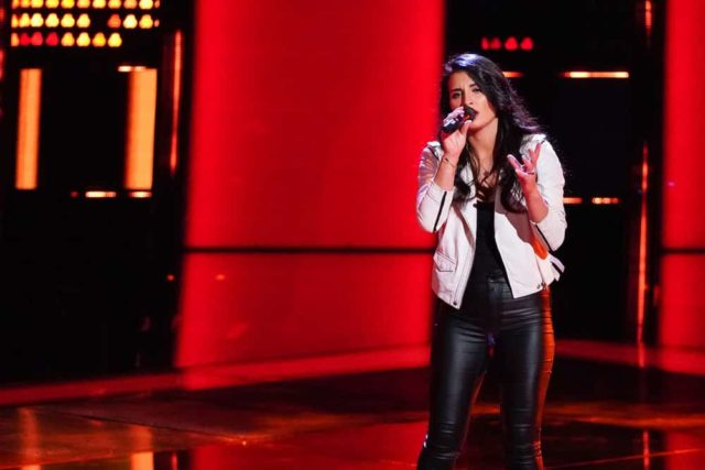 "THE VOICE -- ""Blind Auditions"" -- Pictured: Alena DAmico -- (Photo by: Tyler Golden/NBC)"