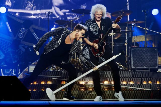 THE SHOW MUST GO ON: THE QUEEN + ADAM LAMBERT STORY - (Miracle Productions) ADAM LAMBERT, QUEEN