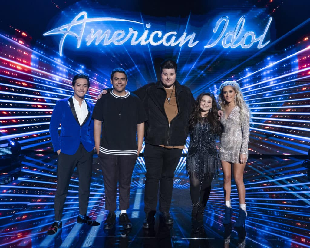American Idol 2019 Top 5 Power List and Poll Results