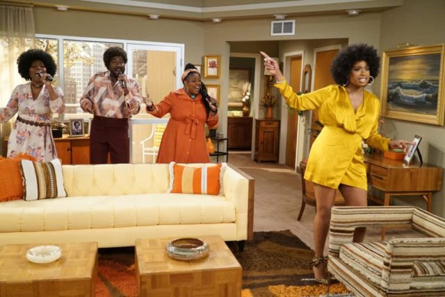 LIVE IN FRONT OF A STUDIO AUDIENCE: NORMAN LEAR'S 'ALL IN THE FAMILY' AND 'THE JEFFERSONS' - (ABC/Eric McCandless) KIMBERLY WASHINGTON, GEORGE HUFF, CHADNEY CHRISTLE, JENNIFER HUDSON