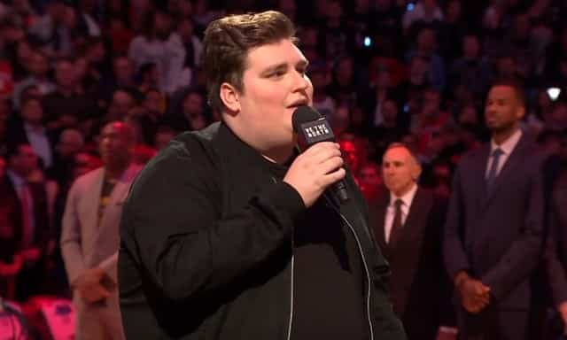 The Voice S Jordan Smith National Anthem Nba Finals Game 1 Video