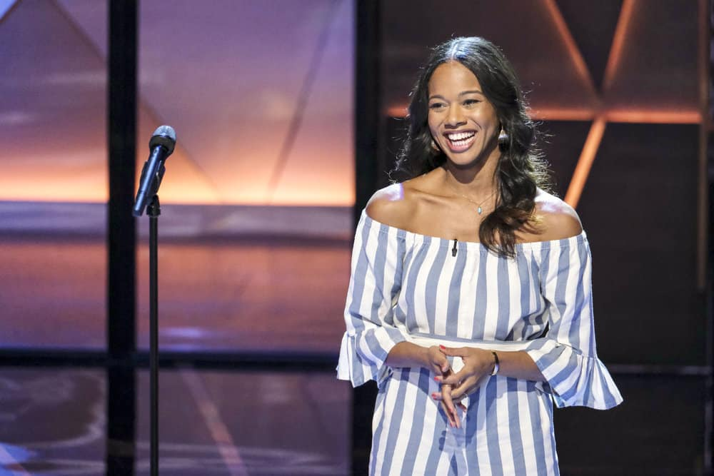SONGLAND -- Episode X -- Pictured: Tebby Burrows -- (Photo by: Trae Patton/NBC)