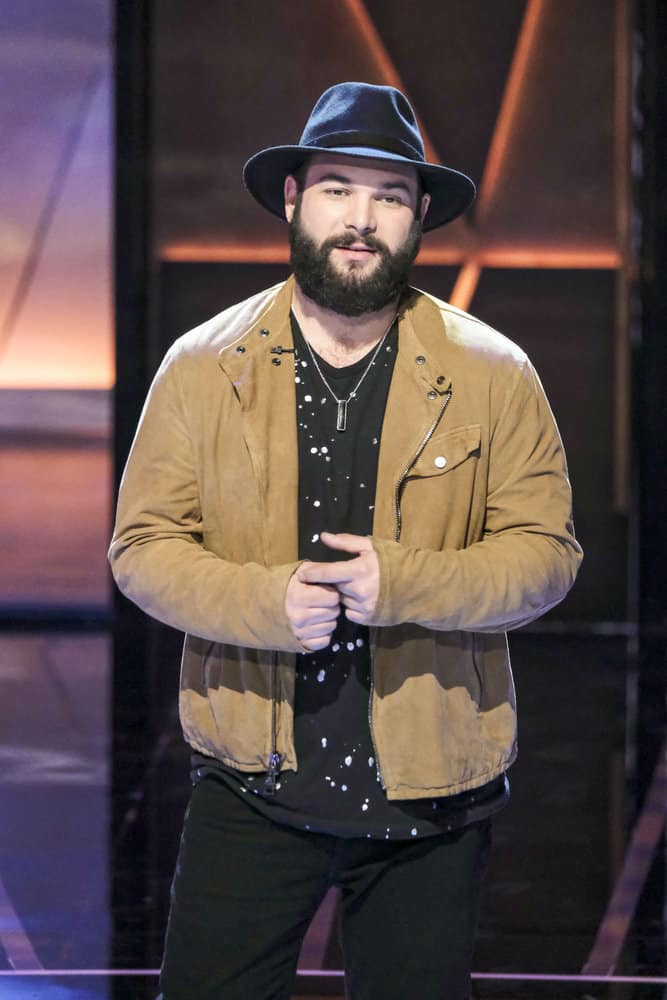 SONGLAND -- Episode X -- Pictured: Sam James -- (Photo by: Trae Patton/NBC)