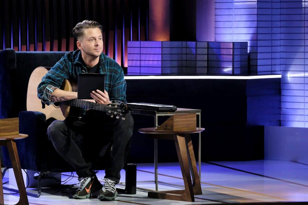 "SONGLAND -- ""will.i.am"" Episode 102 -- Pictured: Ryan Tedder -- (Photo by: Trae Patton/NBC)"