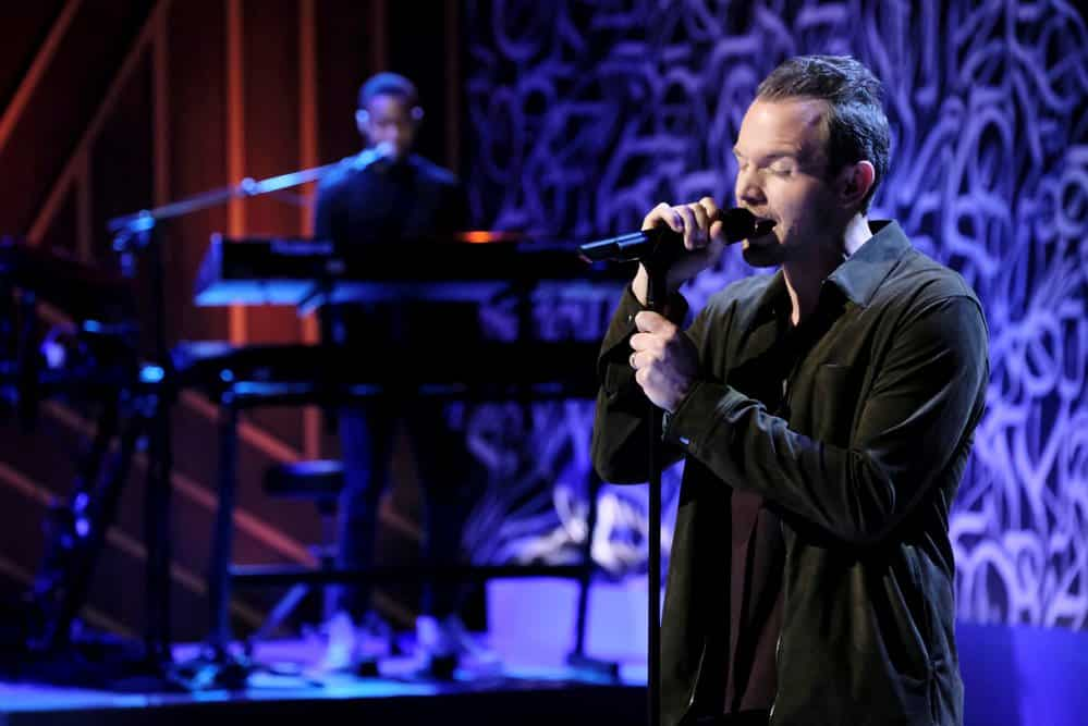 "SONGLAND -- ""will.i.am"" Episode 102 -- Pictured: Josh Logan -- (Photo by: Trae Patton/NBC)"
