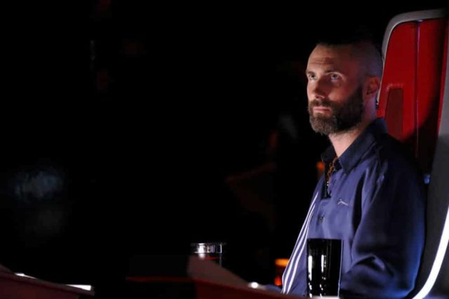 """THE VOICE -- """"Live Top 13 Results"""" Episode 1614B -- Pictured: Adam Levine -- (Photo by: Trae Patton/NBC)"""