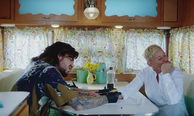Adam Lambert, Ellen DeGeneres, Taylor Swift - You Need to Calm Down Music Video