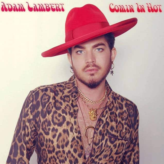Adam Lambert Comin In Hot Single Cover Art
