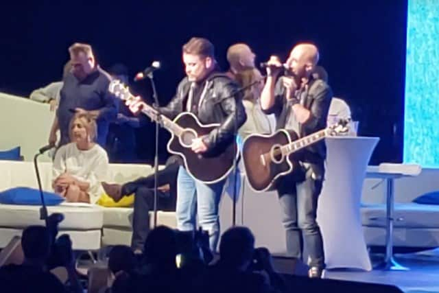 David Cook Chris Daughtry Big Slick 2019