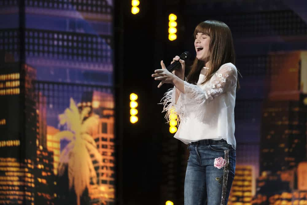 """AMERICA'S GOT TALENT -- """"Auditions 3"""" Episode 1403 -- Pictured: Charlotte Summers -- (Photo by: Trae Patton/NBC)"""