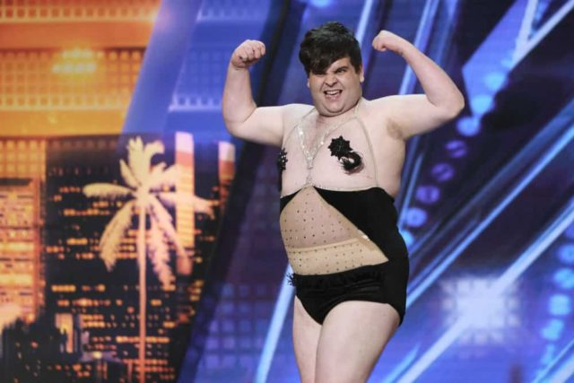 "AMERICA'S GOT TALENT -- ""Auditions 5"" Episode 1405 -- Pictured: Ben Trigger -- (Photo by: Trae Patton/NBC)"
