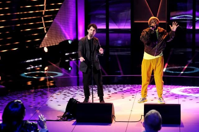 SONGLAND -- ?will.i.am? Episode 102 -- Pictured: (l-r) Adam Friedman, will.i.am -- (Photo by: Trae Patton/NBC)