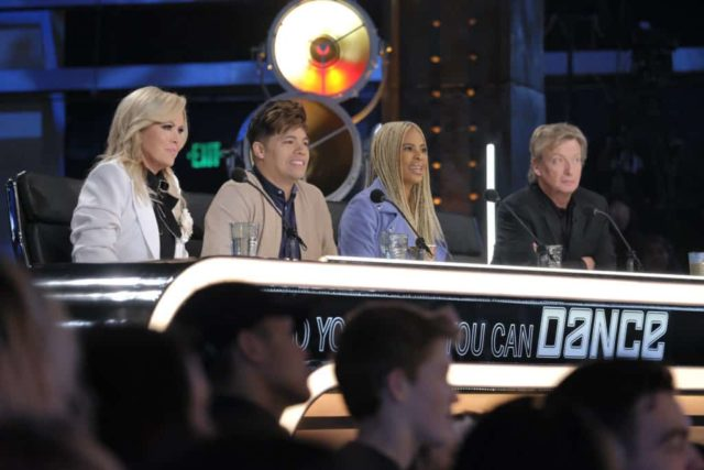 "SO YOU THINK YOU CAN DANCE: L-R: Mary Murphy, Dominic ""D-Trix"" Sandoval, Laurieann Gibson and Nigel Lythgoe at the Los Angeles auditions for SO YOU THINK YOU CAN DANCE premiering Monday, June 3 (9:00-10:00 PM ET/PT) on FOX. ©2019 Fox Media LLC. CR: Adam Rose/FOX"