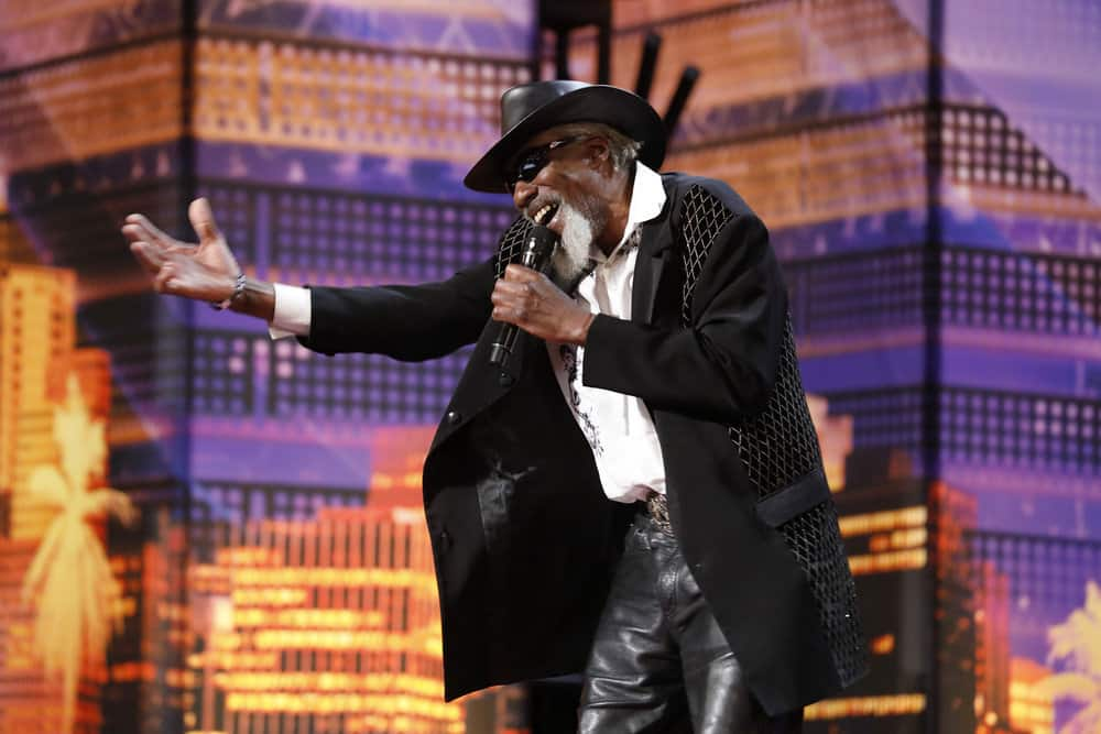 """AMERICA'S GOT TALENT -- """"Auditions 6"""" Episode 1407 -- Pictured: Robert Finley -- (Photo by: Trae Patton/NBC)"""