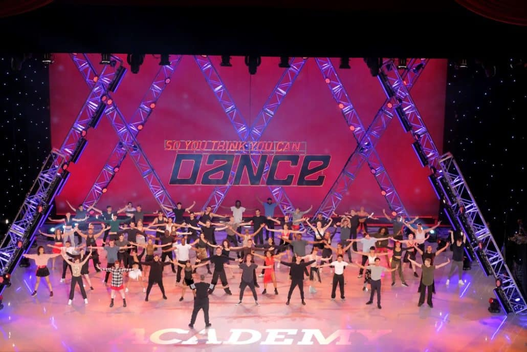 SO YOU THINK YOU CAN DANCE: The contestants at the first round of