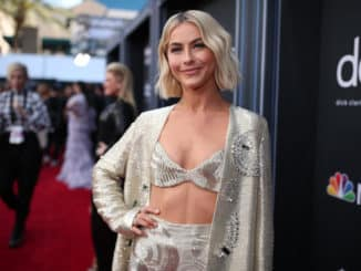 BILLBOARD MUSIC AWARDS -- Red Carpet Roaming -- 2019 BBMA at the MGM Grand, Las Vegas, Nevada -- Pictured: Julianne Hough -- (Photo by: Christopher Polk/NBC)