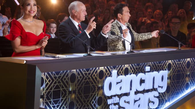 DANCING WITH THE STARS - (ABC/Eric McCandless) CARRIE ANN INABA, LEN GOODMAN, BRUNO TONIOLI