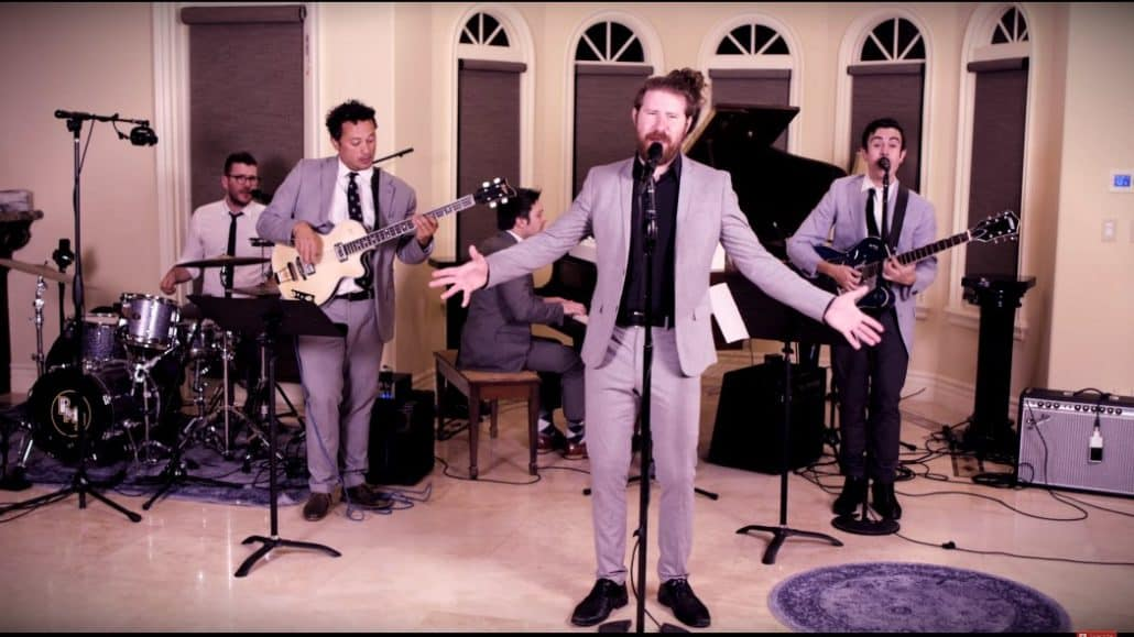Casey Abrams PMJ Tearin' Up My Heart Music Video
