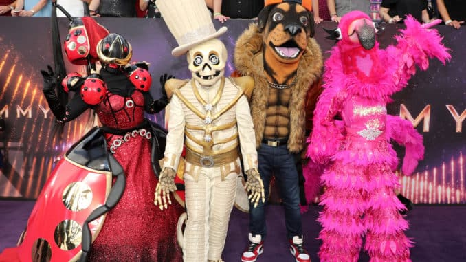 LOS ANGELES, CA - SEPTEMBER 22: THE MASKED SINGER contestants attend FOXÕS LIVE EMMY¨ RED CARPET ARRIVALS during the 71ST PRIMETIME EMMY¨ AWARDS airing live from the Microsoft Theater at L.A. LIVE in Los Angeles on Sunday, September 22 (7:00-8:00 PM ET live/4:00-5:00 PM PT live) on FOX. © 2019 Fox Media LLC. Cr: FOX