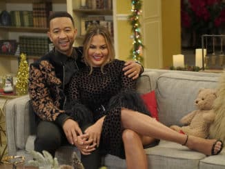 A LEGENDARY CHRISTMAS WITH JOHN & CHRISSY -- 2018 -- Pictured: (l-r) John Legend, Chrissy Teigen -- (Photo by: Paul Drinkwater/NBC)