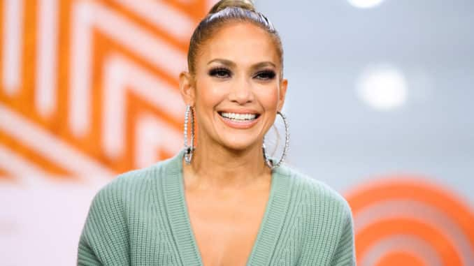 TODAY -- Pictured: Jennifer Lopez on Monday, May 6, 2019 -- (Photo by: Nathan Congleton/NBC)
