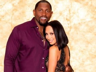 Ray Lewis Cheryl Burke Dancing with the Stars 28