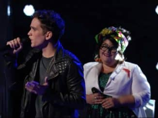 Katie Kadan and Max Boyle The Voice 17 Knockout