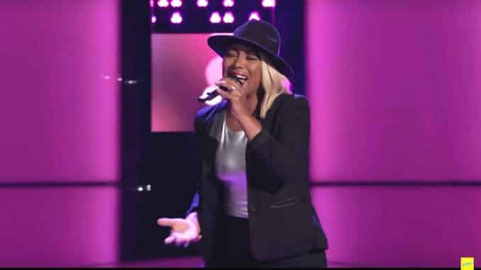 Myracle Holloway The Voice Blind Audition