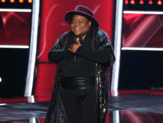"""THE VOICE -- """"Blind Auditions"""" Episode 1704 -- Pictured: Injoy Fountain -- (Photo by: Justin Lubin/NBC)"""