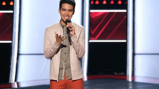 "THE VOICE -- ""Blind Auditions"" Episode 1704 -- Pictured: Preston C Howell -- (Photo by: Justin Lubin/NBC)"
