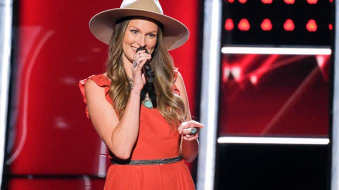 THE VOICE -- Blind Auditions -- Pictured: Brooke Stephenson -- (Photo by: Justin Lubin/NBC)