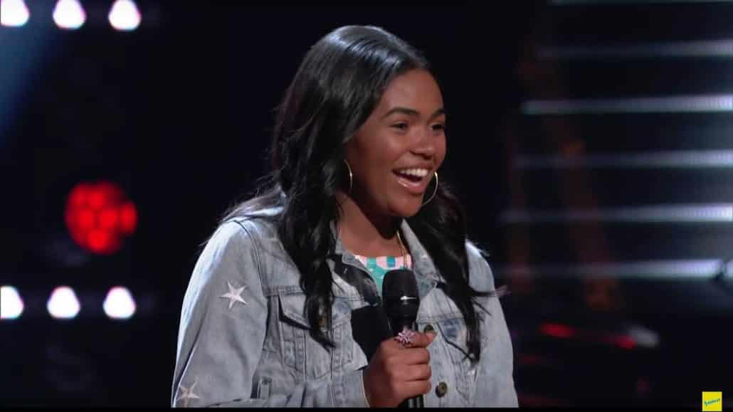 The Voice Zoe Upkins Blind Audition Angel of Mine
