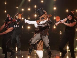 """THE MASKED SINGER: The Fox in the all-new """"Mask Us Anything"""" episode of THE MASKED SINGER airing Wednesday, Nov. 6 (8:00-9:00 PM ET/PT) on FOX. © 2019 FOX MEDIA LLC. CR: Michael Becker/ FOX."""