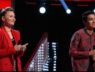 Marybethbyrd and Preston C. Howell The Voice Knockouts