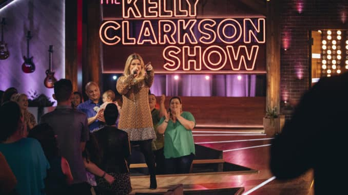 THE KELLY CLARKSON SHOW -- Episode 3046 -- Pictured: Kelly Clarkson -- (Photo by: Weiss Eubanks/NBCUniversal)
