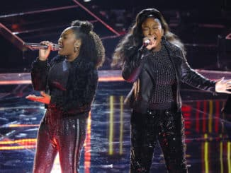 "THE VOICE -- ""Live Top 13 Performances"" Episode 1716A -- Pictured: Hello Sunday -- (Photo by: Trae Patton/NBC)"
